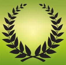 橄榄枝边框图片
