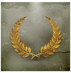 金色橄榄枝图片