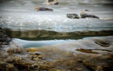 冰水消融图片
