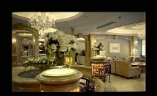 酒店客厅视频素材