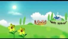 卡通背景视频素材图片