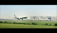飞机降落视频素材图片
