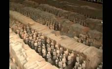 古代兵马俑视频素材