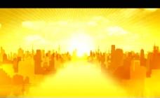 城市光效视频素材