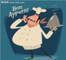 法国厨师图片