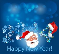 2014圣诞快乐矢量素材