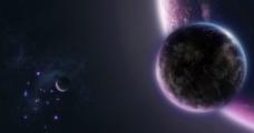 星空地球图片