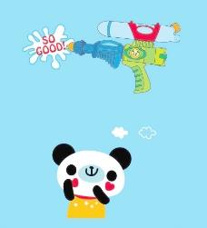 玩具水枪图片