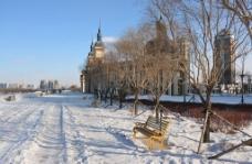 冬日休闲图片
