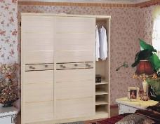 木质衣柜移门图片