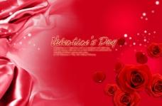 红色浪漫尊贵背景底图情人节素材免费下载