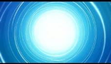 蓝色漩涡背景视频素材图片
