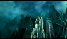 山峰石林背景视频素材图片
