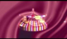 旋转木马背景视频素材图片