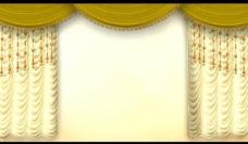 舞台幕帘背景视频素材图片