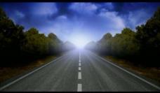 公路流动背景视频素材图片