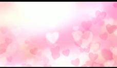 虚幻爱心背景视频素材图片