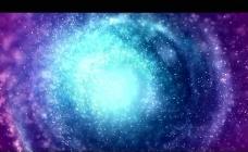 蓝色漩涡背景视频素材