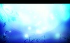 梦幻花纹背景视频素材