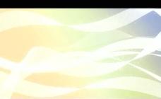 白色飘带背景视频素材