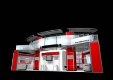 3D展览设计图片