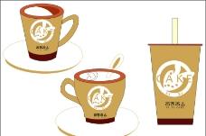 咖啡杯设计图片
