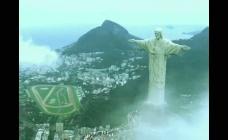 巴西雕像世界风光视频