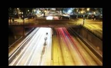 延时摄影城市公路视频