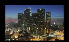 延时摄影城市风景视频