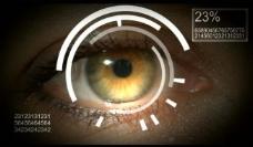 眼镜科技光效背景视频图片