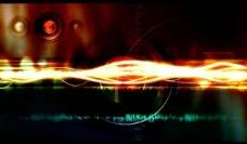 动感光波光效背景视频图片