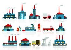 工厂图标图片