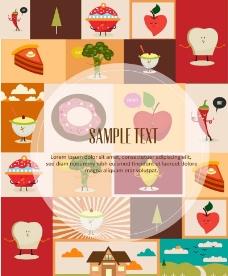美食设计图片