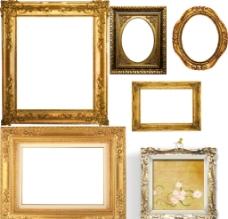 欧式相框图片