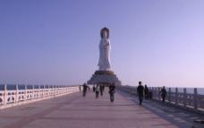 三亚南山寺观音图片