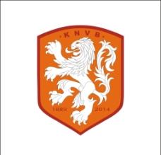 荷兰足球新徽标图片