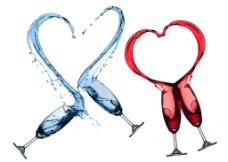 红葡萄酒图片