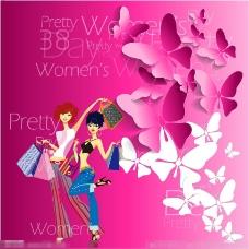 38女人节矢量素材