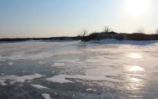 冰裂 冬雪图片