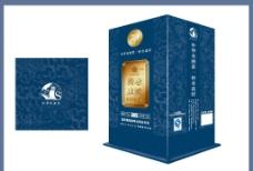 新晋商酒包装 (平面图)图片