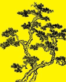 国画树木图片
