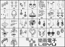 30种高清装饰品笔刷