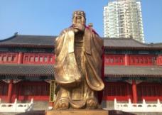 孔子雕像图片