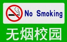 无烟校园 禁烟标识