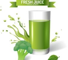 新鲜蔬菜汁图片
