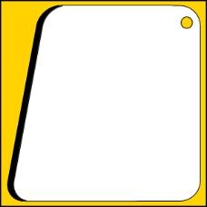 淘宝天猫促销主图相框黄黑