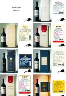 列级酒庄红酒图片