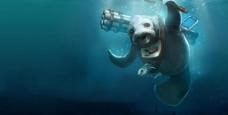 海底怪兽图片