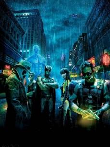电影海报守望者watchmen图片