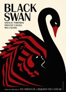 电影《黑天鹅》海报图片